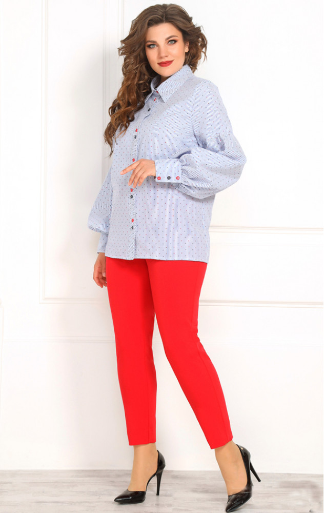 Solomeya Lux 834 - жіноча блузка-сорочка