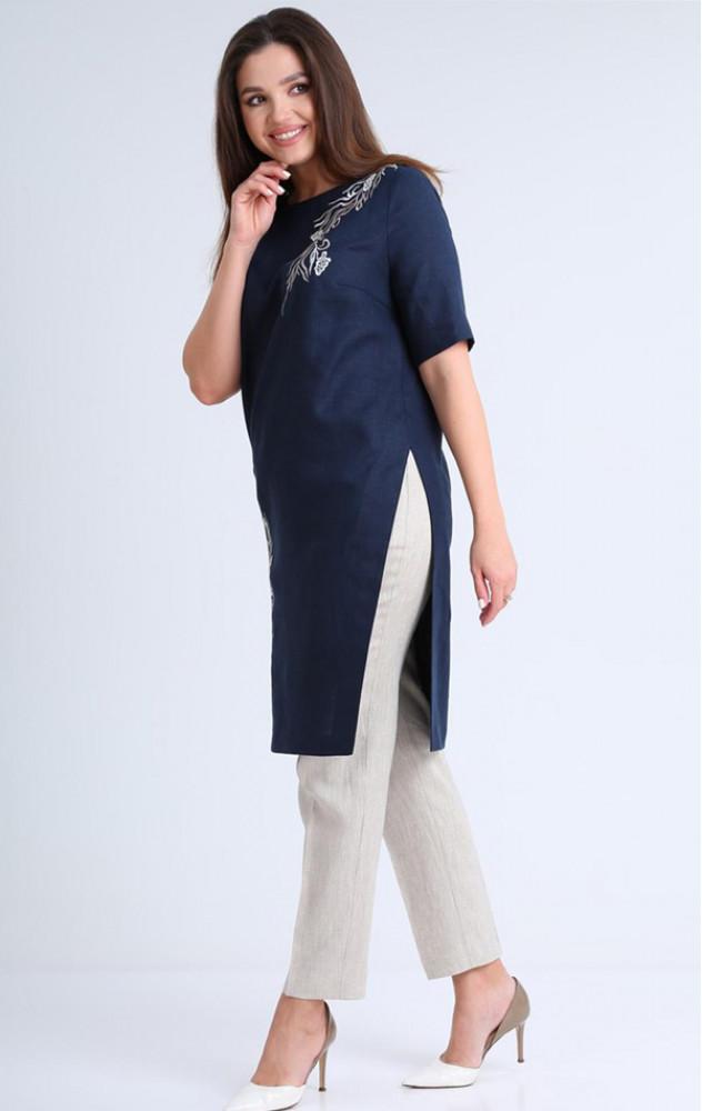 Mali 721-035 - білоруський лляний брючний костюм