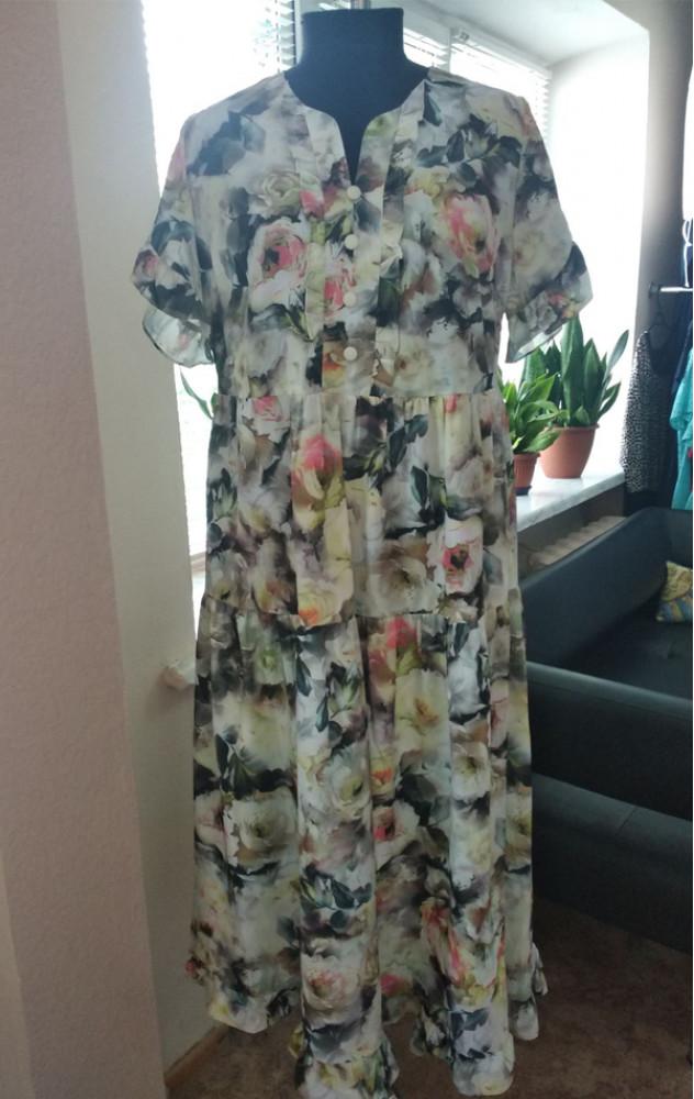 Asolia 2478 - легке шифонове плаття білоруського виробництва