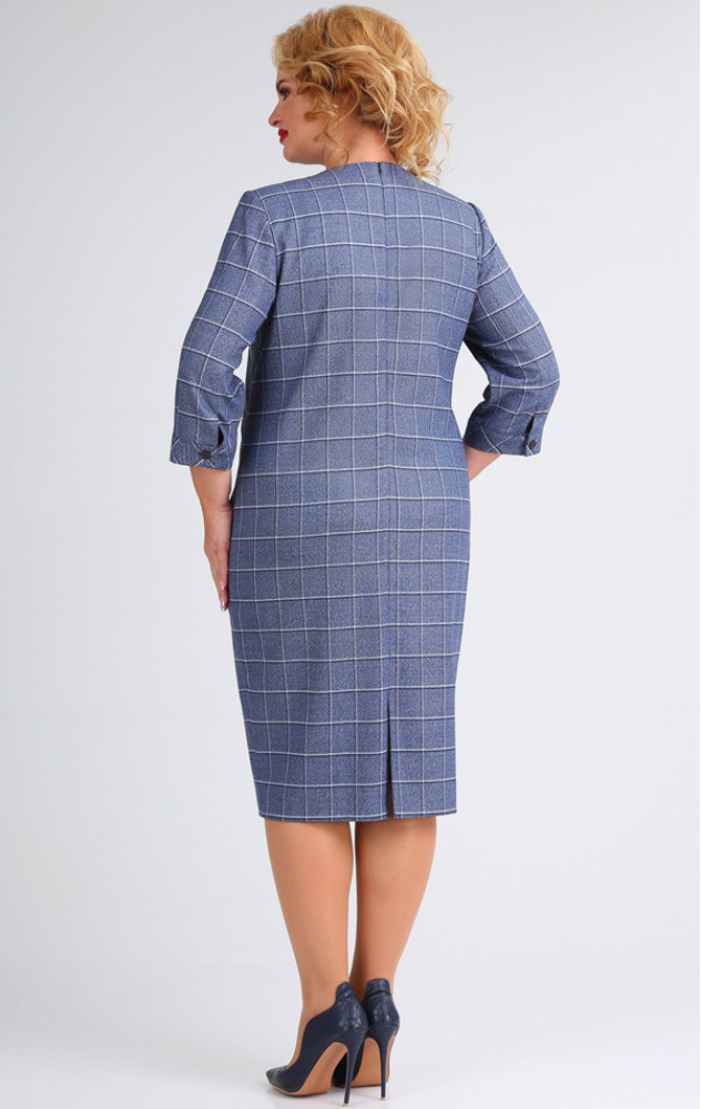 Ivelta 1765 - білоруське ділове плаття в клітинку