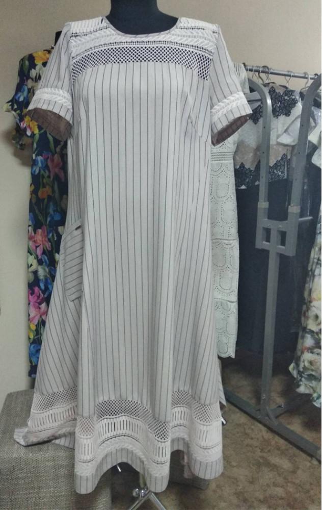 Liliana 812 - білоруське літнє плаття з льону