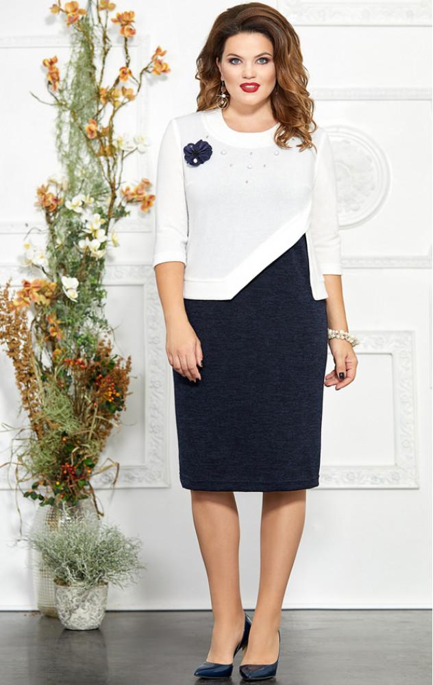 Mira Fashion 4861 - трикотажне ошатне білоруське плаття