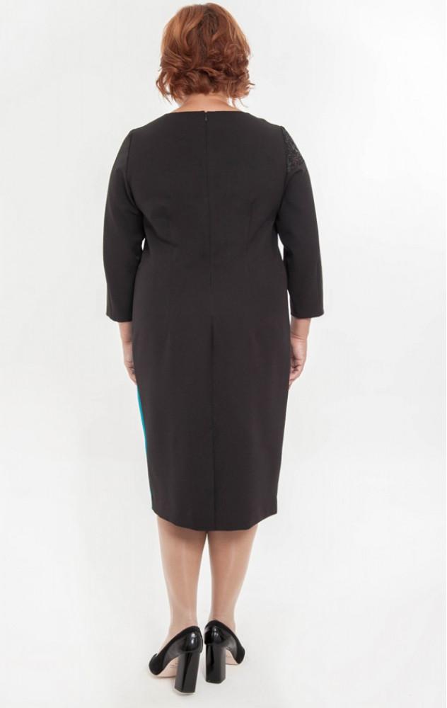 Petro Soroka 3138 - ділове двохкольорове плаття