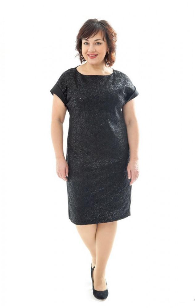 Petro Soroka 3245 - нарядное платье в паетках