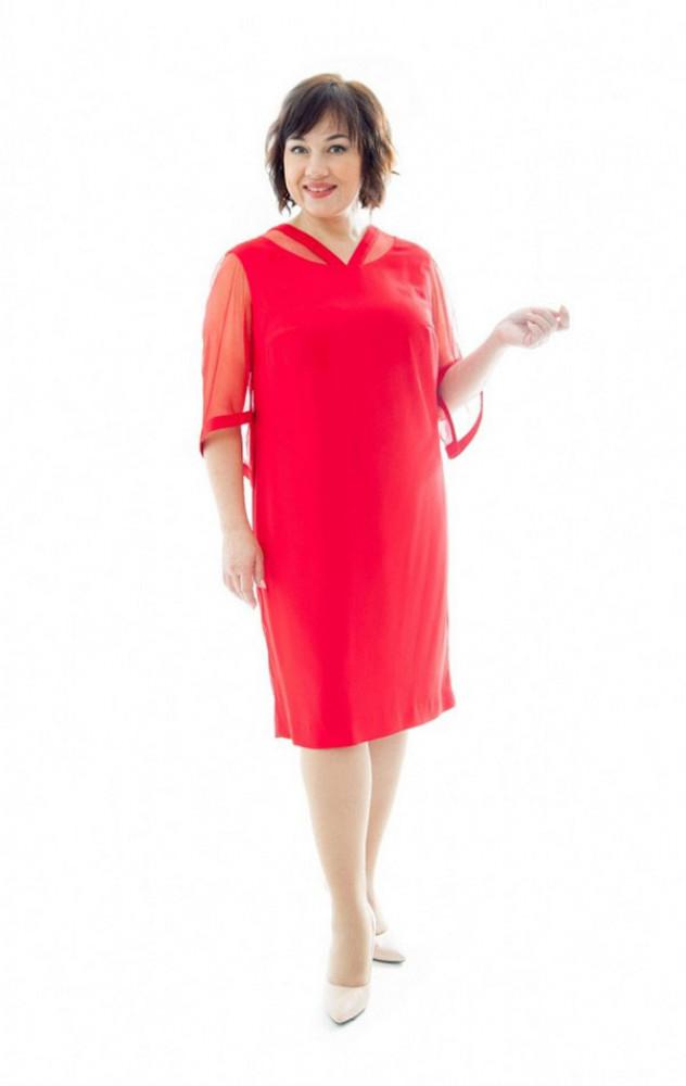 Petro Soroka 3355 - червоне ошатне плаття