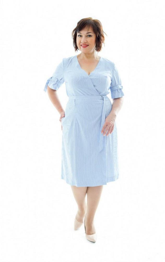 Petro Soroka 3370 - літнє плаття в смужку