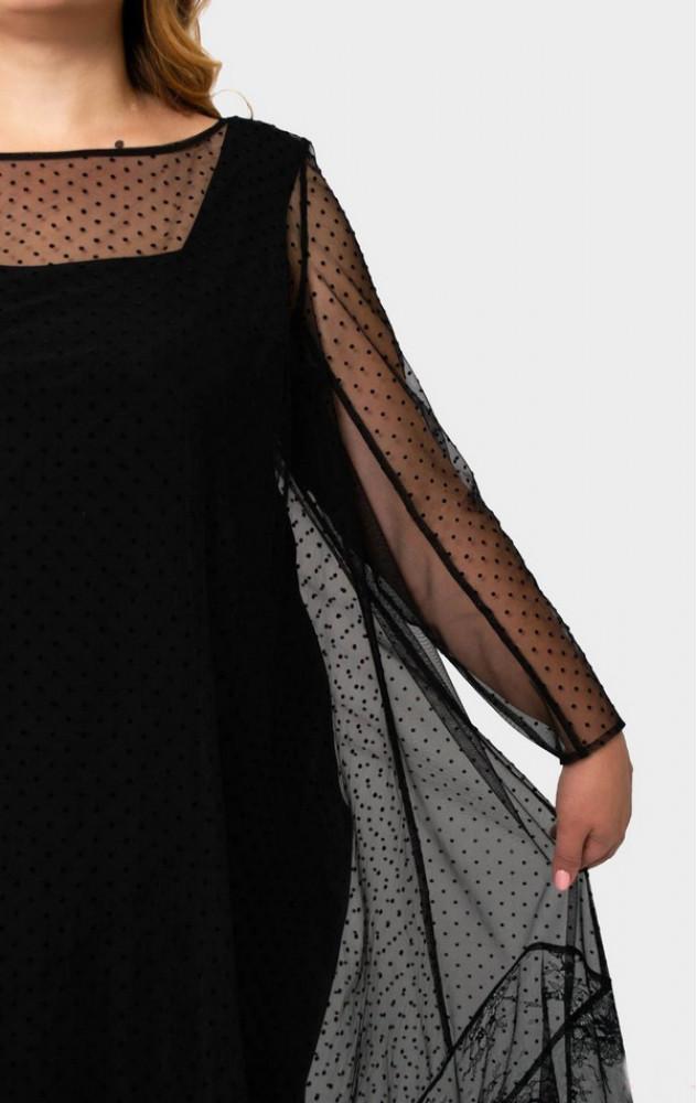 Petro Soroka 3432 - ошатний комплект (плаття з накидкою)