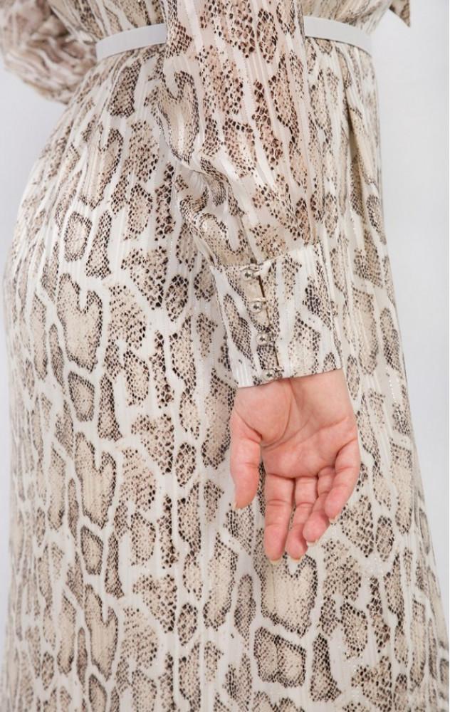 Petro Soroka 3497 - ошатно-повсякденне шифонове плаття