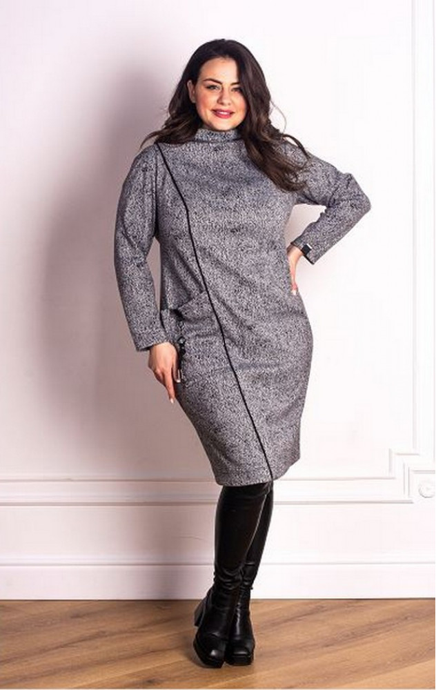 Petro Soroka 3684 - трикотажне тепле плаття