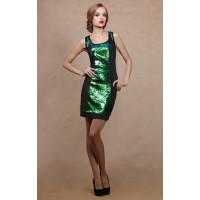Платье с паетками Prio 104580