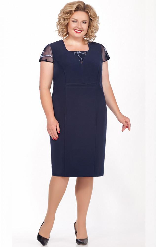 Lakona 1163 - ошатний комплект (плаття з накидкою)