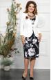Mira Fashion 4838 - ошатний костюм (плаття з жакетом)