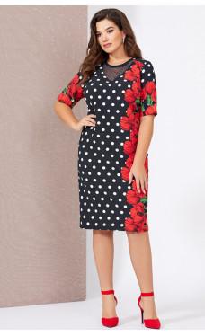 Сукня з жакетом Mira Fashion 5010