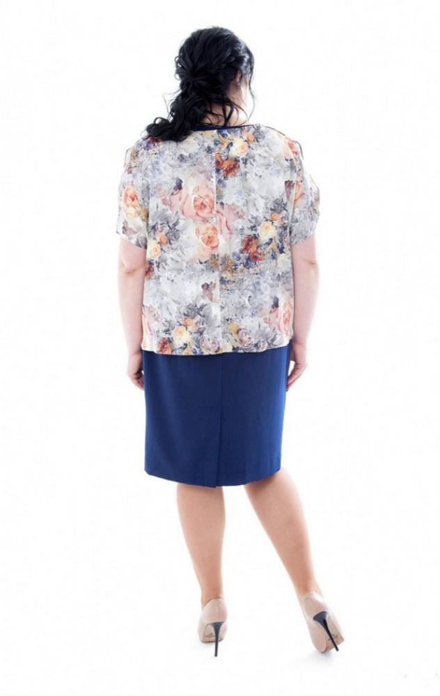 Petro Soroka 3310 - ошатний комплект (плаття і блуза)