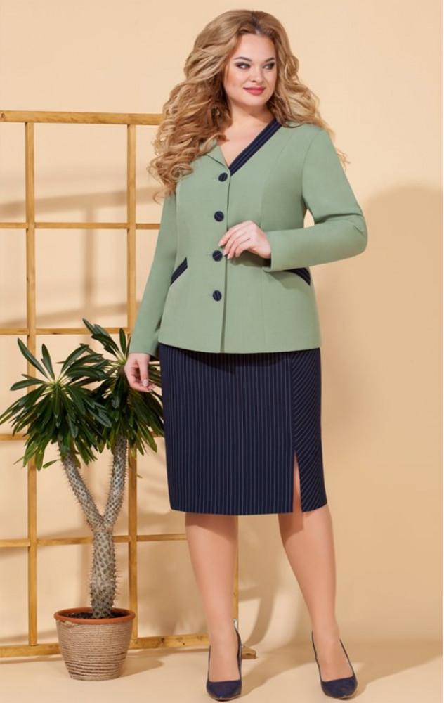 Ivelta 2509 - діловий білоруський спідничний костюм