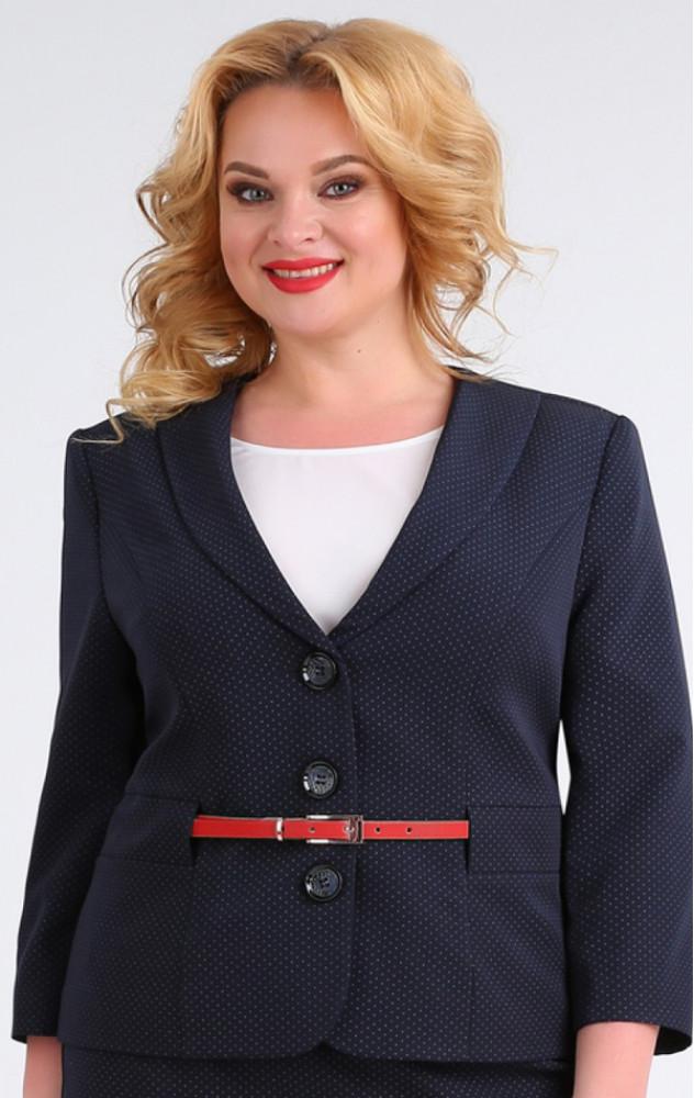 Ivelta 3625 - діловий білоруський спідничний костюм-трійка